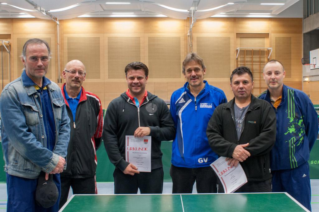 Die Sieger der Wettbewerbe Senioren 1 & Senioren 2. Foto: Christoph Muhr