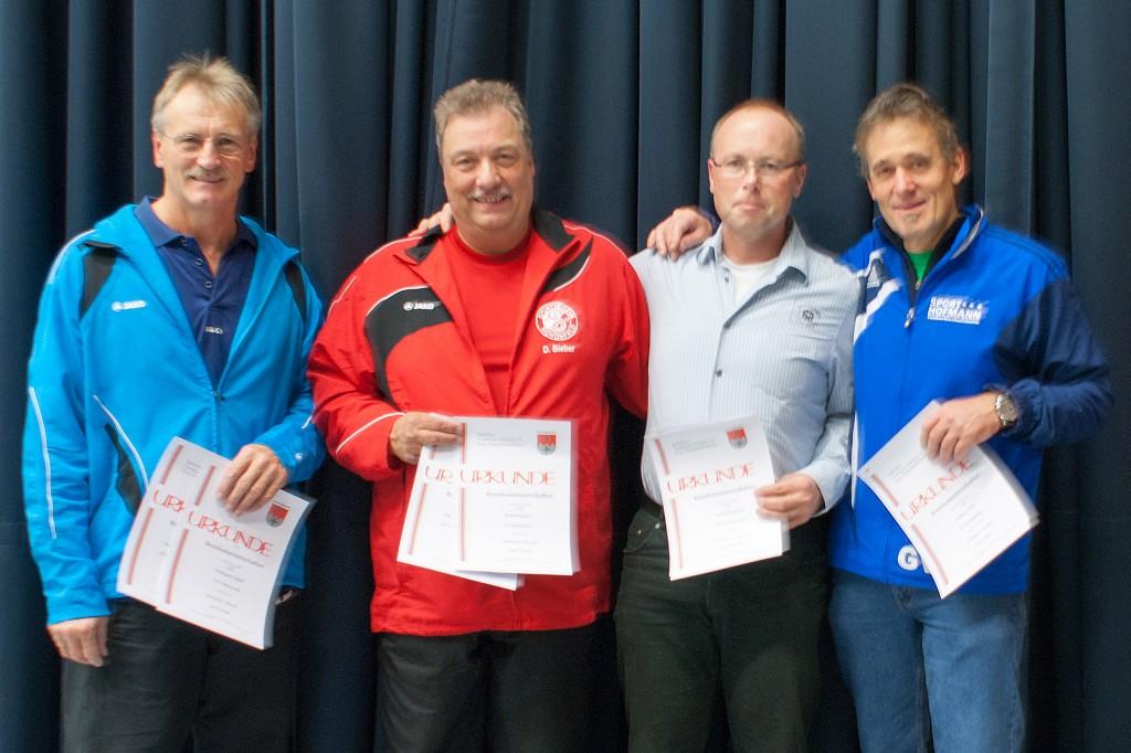 Die Sieger des Wettbewerbs Senioren. Foto: Christoph Muhr