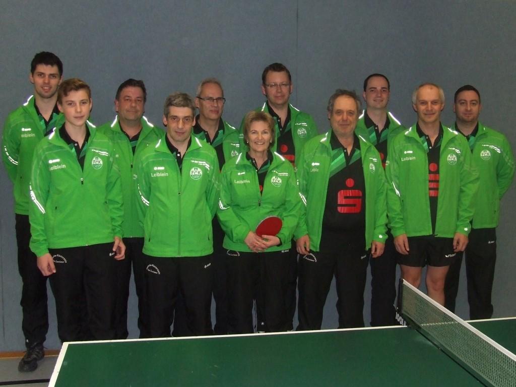 Das Meisterteam des FC Külsheim III in der Herren Kreisklasse B.