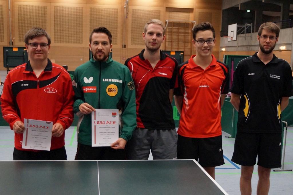 Die Sieger im Wettbewerb der Herren A-Klasse. Foto: Wolfgang Appel