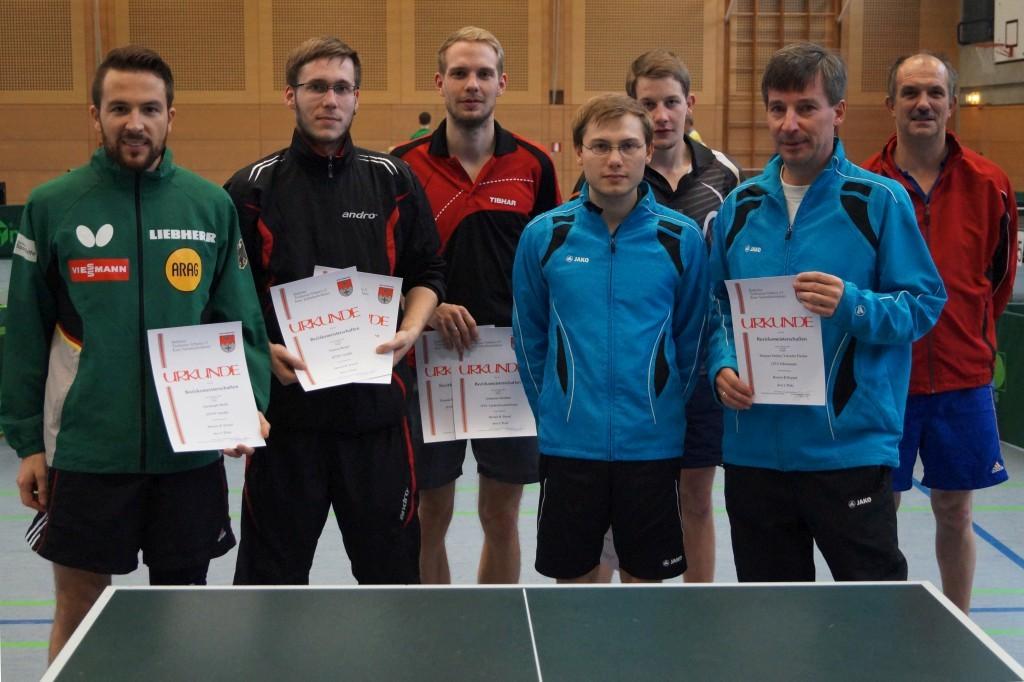 Die Sieger im Wettbewerb der Herren B-Klasse. Foto: Wolfgang Appel