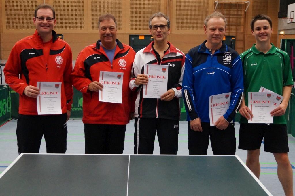 Die Sieger im Wettbewerb der Herren C-Klasse. Foto: Wolfgang Appel