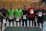 Die Sieger im Wettbewerb der Herren S-Klasse Doppel. Foto: Wolfgang Appel