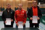 Die Sieger im Wettbewerb der Herren S-Klasse Einzel. Foto: Wolfgang Appel