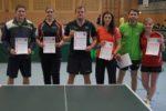Die Siegerinnen und Sieger im Wettbewerb der Damen & Herren Mixed. Foto: Wolfgang Appel