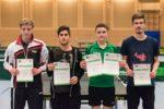 Die Sieger im Wettbewerb der Jungen. Foto: Christoph Muhr