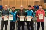 Die Sieger im Wettbewerb der Schüler B. Foto: Christoph Muhr