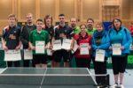 Die Siegerinnen und Sieger der Wettbewerbe Herren S und Damen. Foto: Christoph Muhr