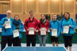 Die Siegerinnen und Sieger im Wettbewerb Mixed Damen/Herren. Foto: Christoph Muhr