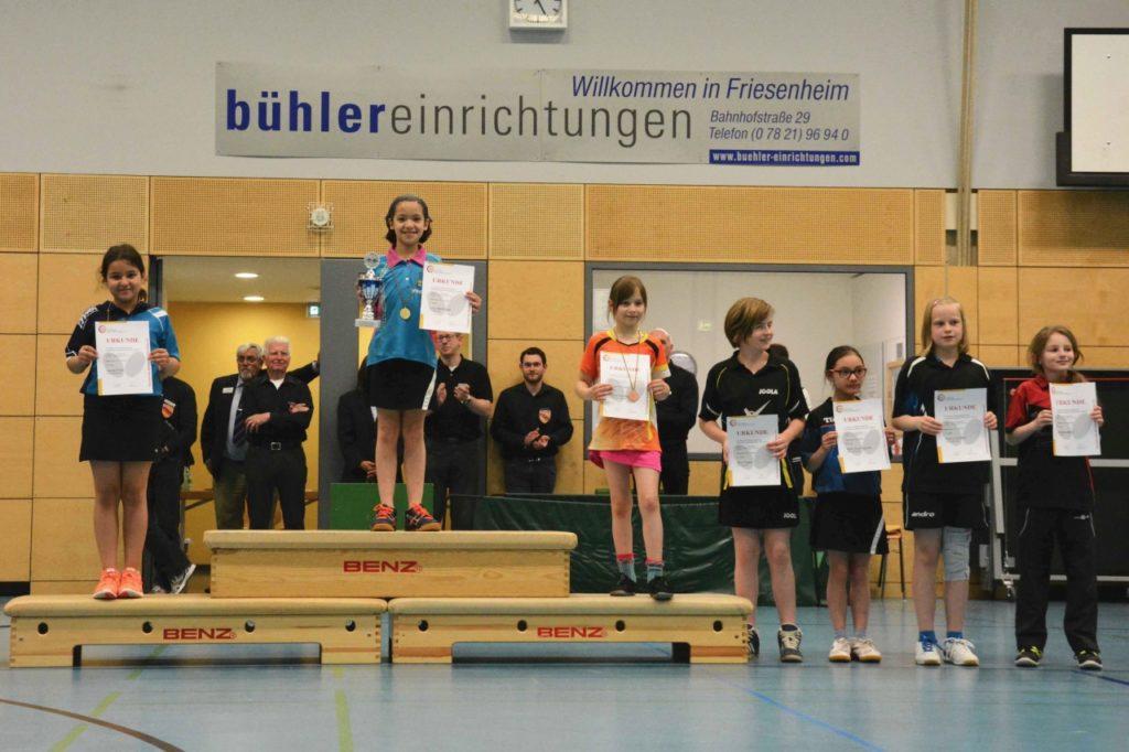 Lucia Behringer gewann bei den Schülerinnen U11 souverän.