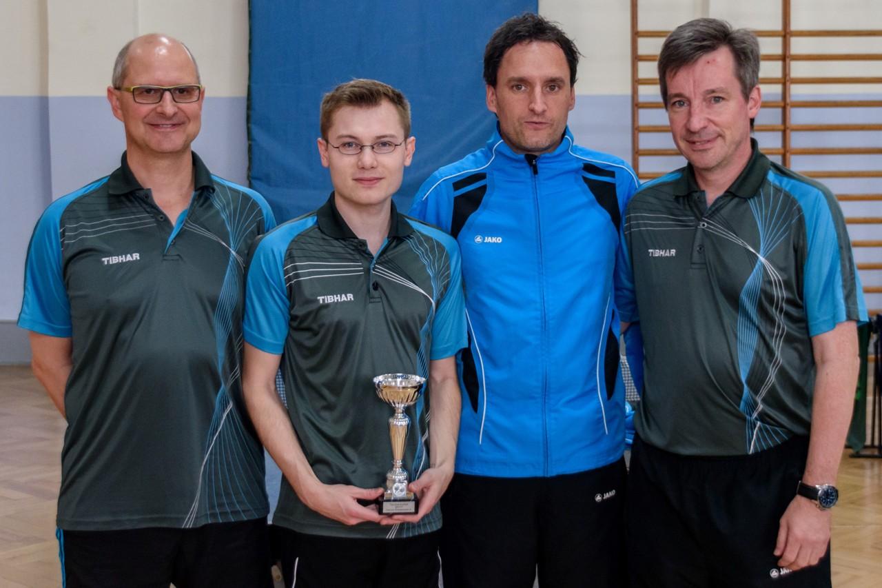 Sieger im Tauberpokal der Herren Kreisklasse A in der Saison 2016/2017: TTV Oberlauda.