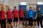 Die Endspielteilnehmer im Tauberpokal der Herren Kreisklasse A in der Saison 2016/2017: TSV Assamstadt II (links) und TTV Oberlauda (rechts).