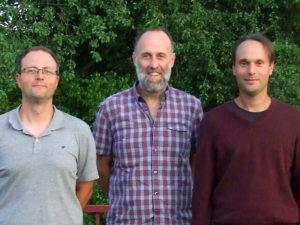 Die neu gewählten Jugendwarte Frank Schwager, Achim Ansmann und Marcel Münkel (v .l. n. r.).