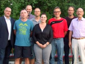 Der neu gewählte Vorstand des Tischtennisnbezirk Tauberbischofsheim.