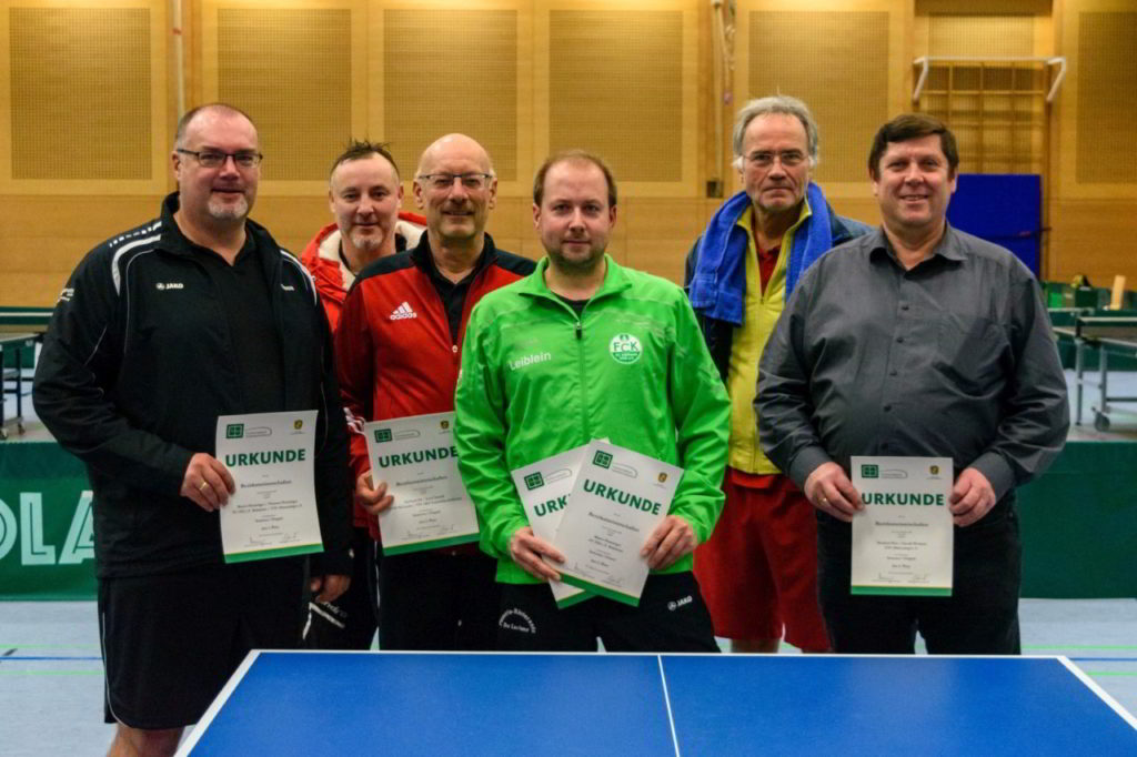 Die Sieger des Wettbewerbs Senioren.
